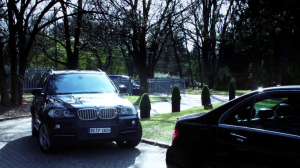 Bogus German license plate in Nikita